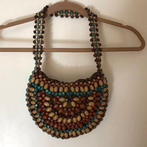Handbags - 70's Beaded Bag